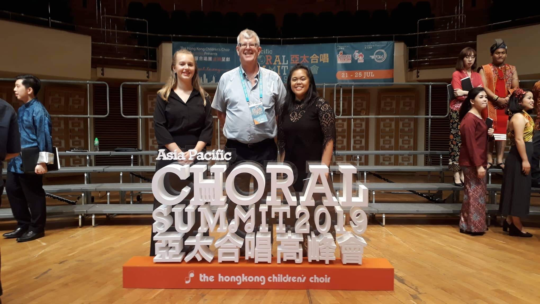 NZ singers perform with the Asia Pacific Youth Choir - New Zealand